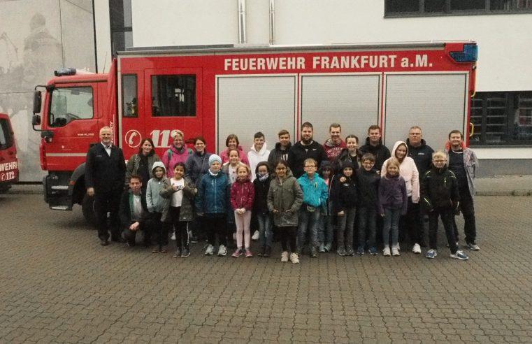 Ausflug zur Berufsfeuerwehr Frankfurt