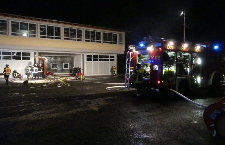 Nachtalarmübung der Feuerwehr Breuberg